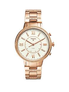 fossil-virginia-rose-gold-stainless-steel-hybrid-smartwatch