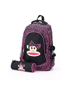 paul-frank-3d-bow-backpack-and-pencil-case-set