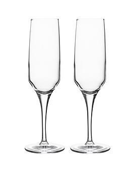 ravenhead-set-of-2-diamond-crystal-flute-glasses