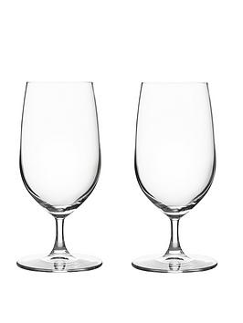ravenhead-diamond-crystal-beer-glasses-set-of-2