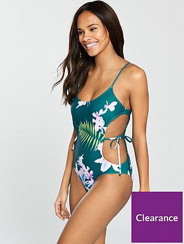 south-beach-nostalgia-cutaway-swimsuit-with-string-tie-detail-floral-print