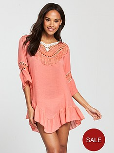 south-beach-low-back-crochet-tassel-beach-dress-peach