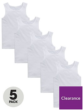 v-by-very-boys-5-pack-sleeveless-vest-tops-white