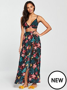 south-beach-chiffon-tropical-co-ord-set--nbsptropical-printnbsp