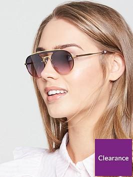 tommy-hilfiger-brow-bar-sunglasses-blackgold