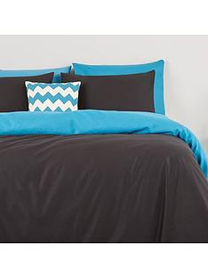 essentials-collection-plain-dye-reversible-duvet-cover-set
