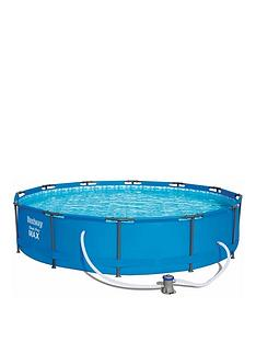 bestway-12ft-pro-max-pool-with-pump