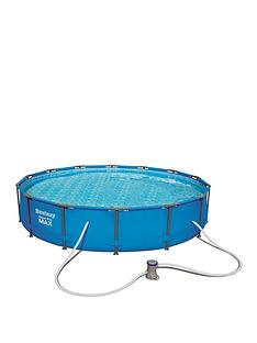 bestway-14ft-steel-pro-max-pool-with-ladder-amp-pump