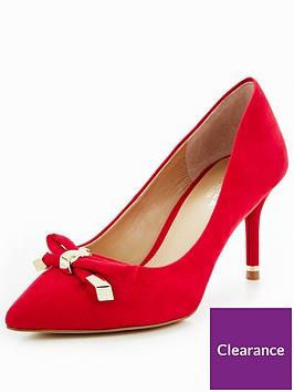 carvela-kupid-hardwear-bow-court-red