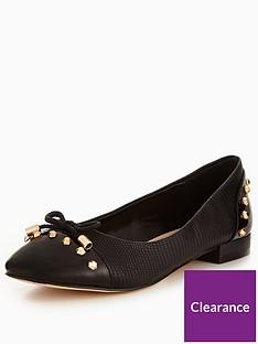 carvela-mascot-stud-ballerina-shoe