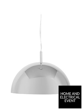 ideal-home-armina-dome-mirror-pendant-light