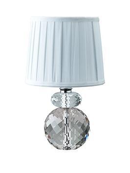 Saveneta Small Crystal Table Lamp Littlewoodscom