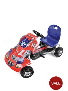 transformers-optimus-prime-go-kart