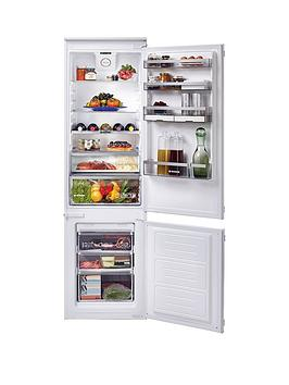 Hoover   H-Fridge 500 Bhbf182Nuk 185Cm High, 54Cm Wide, One Touch, Integrated Frost-Free Fridge Freezer - White - Fridge Freezer Only