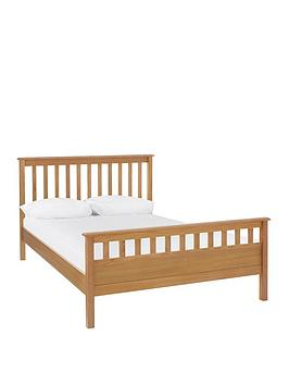 Very Dawson Bed Frame With Mattress Options (Buy And Save!) - Oak Effect -  ... Picture