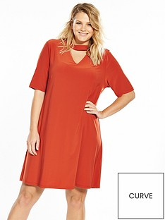 v-by-very-curve-choker-jersey-dress-spicenbsp