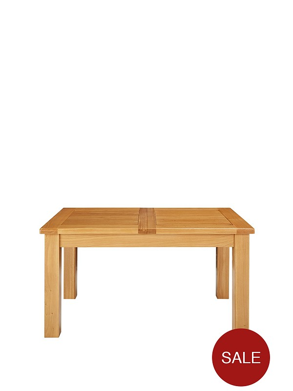 Remarkable Oakland 140 180 Cm Solid Wood Extending Dining Table Gmtry Best Dining Table And Chair Ideas Images Gmtryco