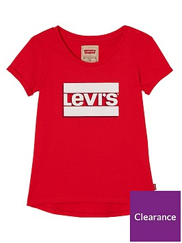 levis-girls-logo-fitted-t-shirt