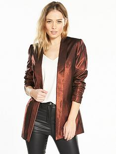 v-by-very-metallic-jacket-bronze