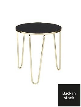 ideal-home-glam-side-tablenbsp--blackgoldnbsp