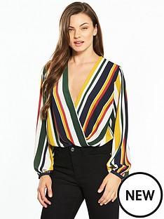 v-by-very-stripe-wrap-bodysuit