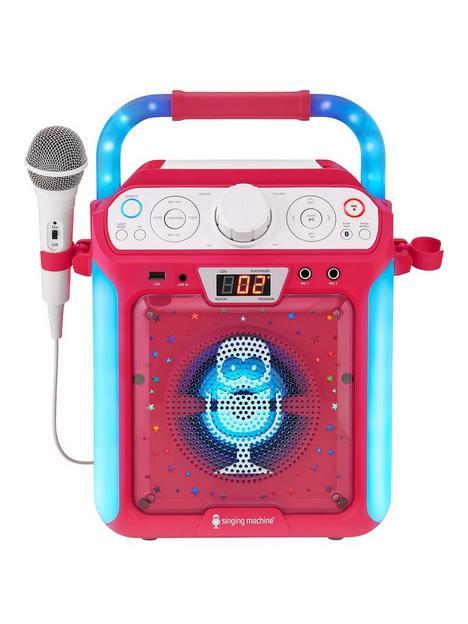 the-singing-machine-sml682btp-bluetooth-cdg-tablet-karaoke-machine-pink