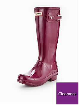 hunter-original-kids-gloss-welly-violet