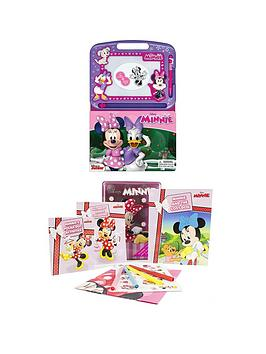 disney-disney-minnie-mouse-2-book-bundle-learning-series-amp-happy-tin