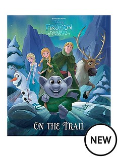 disney-disney-frozen-magic-of-the-northern-lights-on-the-trail-picture-book