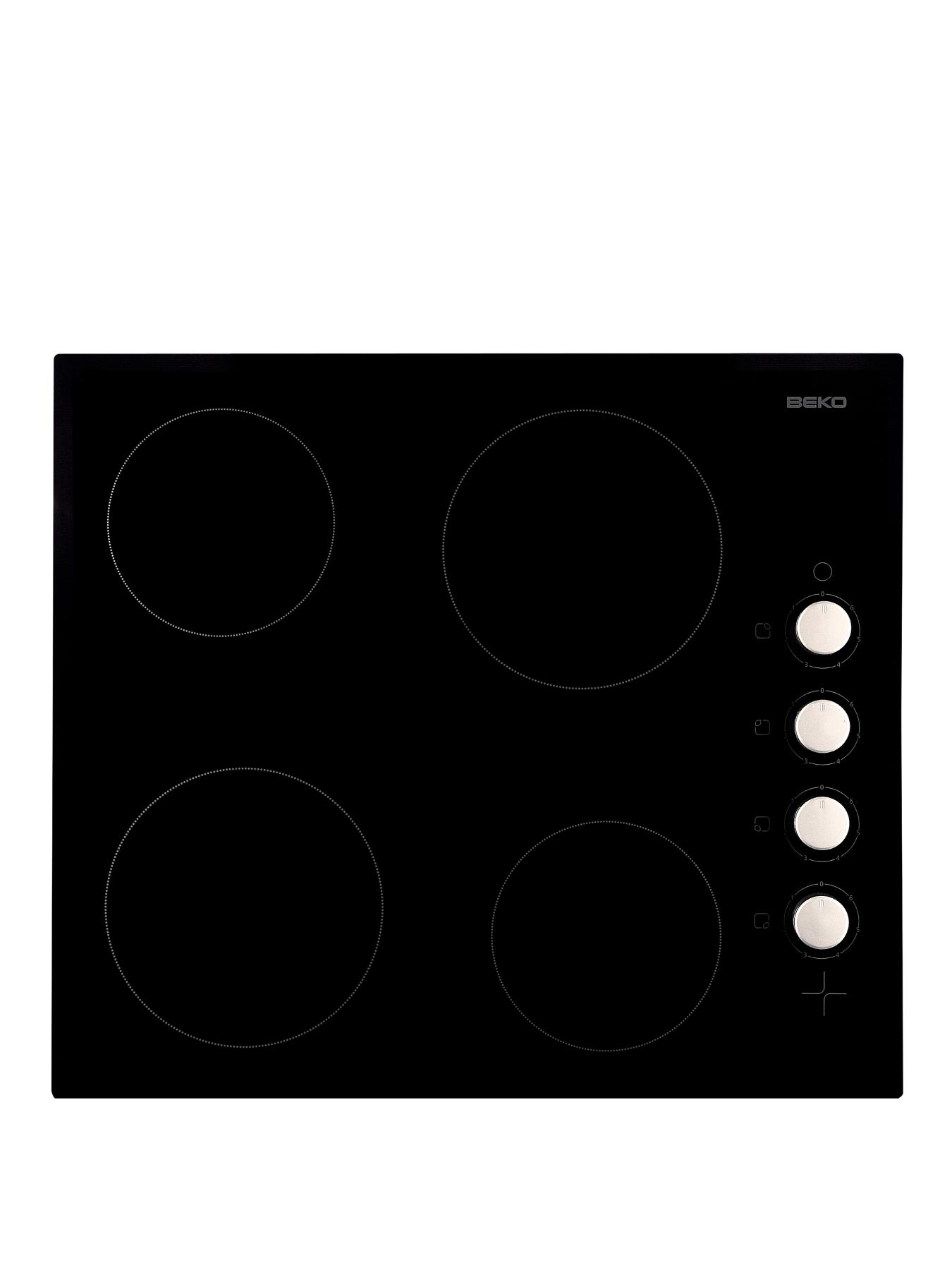how to clean electric hob