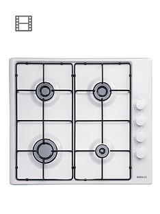beko-hizg64120sw-60cm-built-in-gas-hob-with-fsd-white