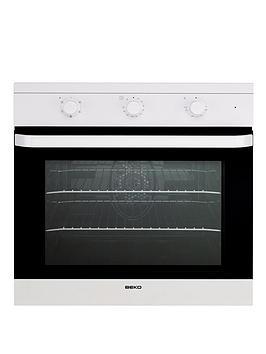 beko-oif21100w-60cm-electric-built-in-single-fan-oven-white