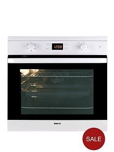 beko-oif21300w-60cm-electric-built-in-single-fan-oven-white