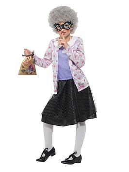 David Walliams David Walliams David Walliams Deluxe Gangsta Granny Costume Picture