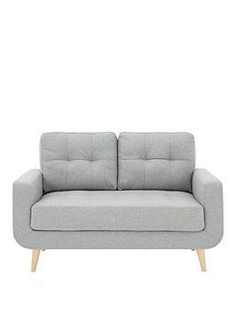 Very Skandi 2 Seater Fabric Sofa Picture
