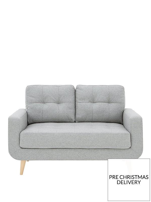 Skandi 2 Seater Fabric Sofa