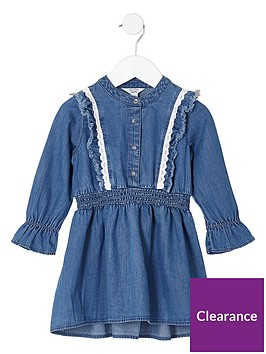 river-island-mini-girls-blue-denim-long-sleeve-frill-dress