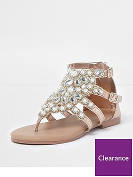 river-island-girls-rose-gold-jewel-toe-post-cage-sandals