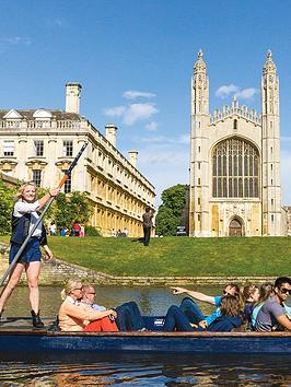 Virgin Experience Days Chauffeured Cambridge Punting Tour For Two