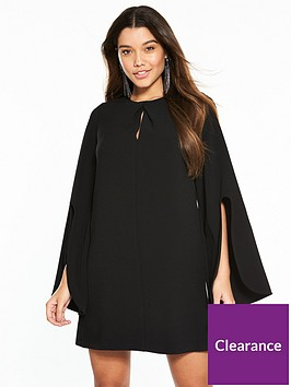 river-island-swing-dress--black
