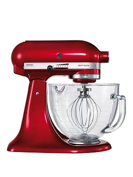 kitchenaid-artisan-stand-mixer-candy-apple-red