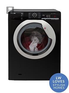 hoover-dynamic-nextnbspdxoa410c3b-10kgnbspload-1400-spin-washing-machine-with-one-touch-blackchromenbsp