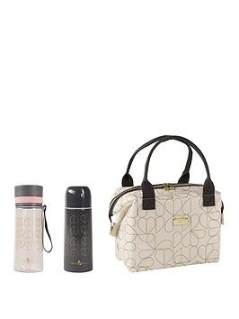 Beau & Elliot   Oyster Convertible Lunch Bag With Flask And Hydration Bottle