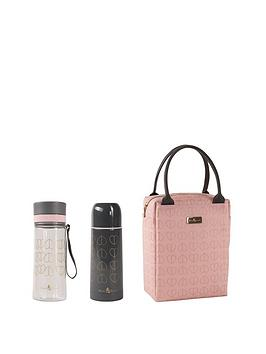 Beau & Elliot   Lunch Tote With Flask And Hydration Bottle