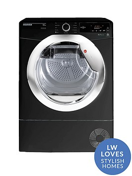 hoover-dynamic-next-dxc10tceb-10kgnbspaquavision-condenser-tumble-dryer-with-one-touch-blackchrome