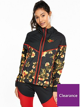 22e45db4a4 Nike Sportswear Russian Floral Track Jacket - Black