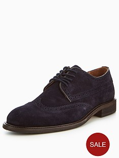 selected-homme-baxter-brogue-suede-shoe