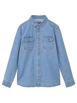mango-boys-chest-pocket-denim-shirt