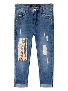 mango-girls-sequin-patch-jean