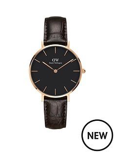 daniel-wellington-daniel-wellington-classic-petite-york-rose-gold-black-face-32mm-case-brown-leather-strap-ladies-watch